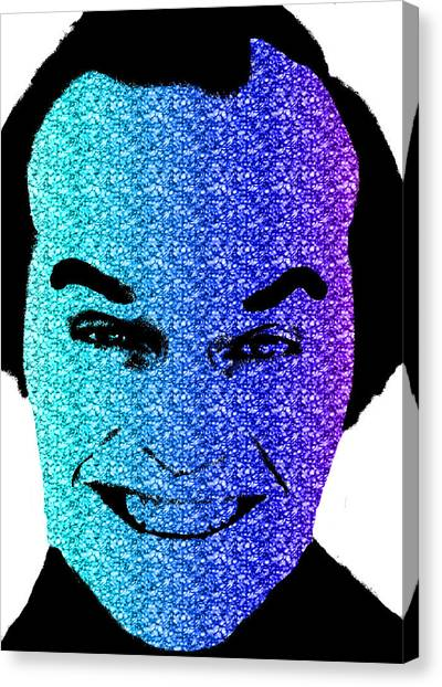 Jack Nicholson Canvas Print - Jack Nicholson 1 by Emme Pons