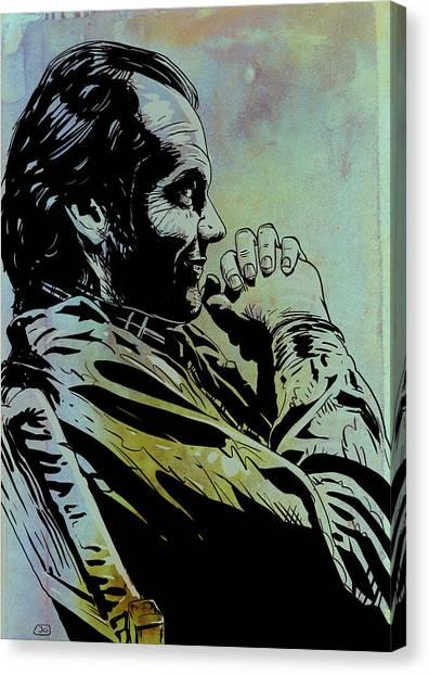 Jack Nicholson Canvas Print - Jack Nicholson by Giuseppe Cristiano