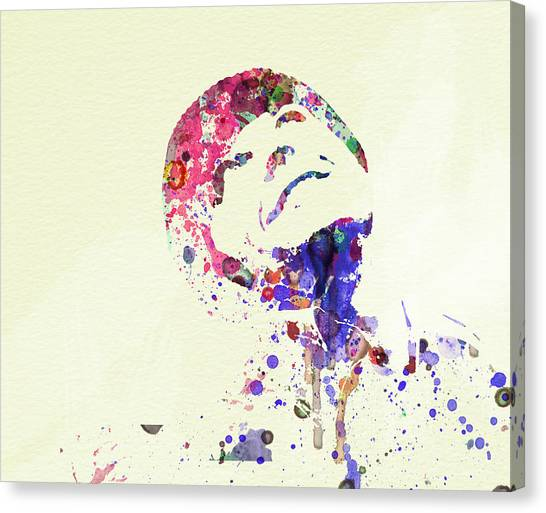 Flight Canvas Print - Jack Nicholson by Naxart Studio