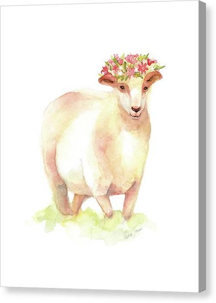 Spring Canvas Print - Jackie by Stephie Jones
