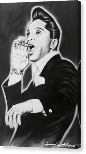 Jackie Wilson Canvas Print