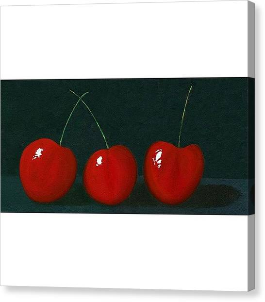 Berries Canvas Print - Jackpot! by Karyn Robinson