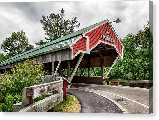 Jackson Covered Bridge Canvas Print