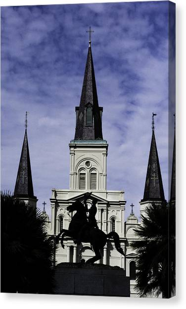 Jackson Square - Color Canvas Print