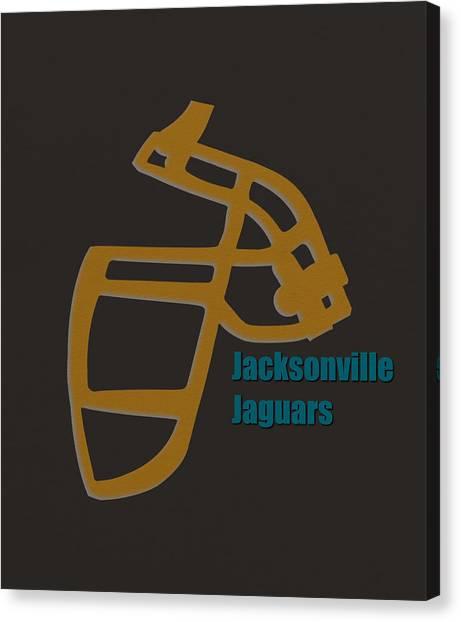 Jacksonville Jaguars Canvas Print - Jacksonville Jaguars Retro by Joe Hamilton