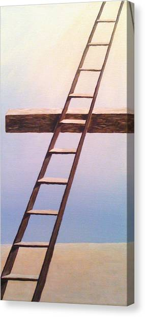 Jacob's Ladder Canvas Print