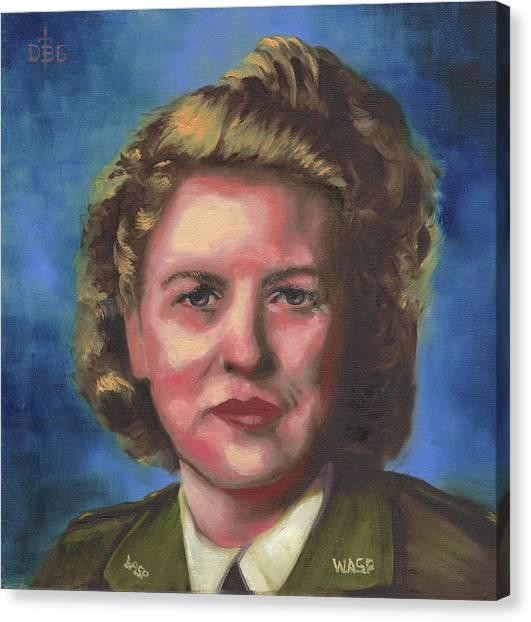 Jacqueline Cochran Canvas Print