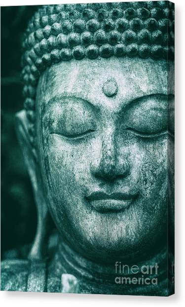 Buddhist Canvas Print - Jade Buddha by Tim Gainey