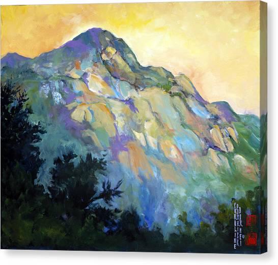 Jade Mountain Canvas Print