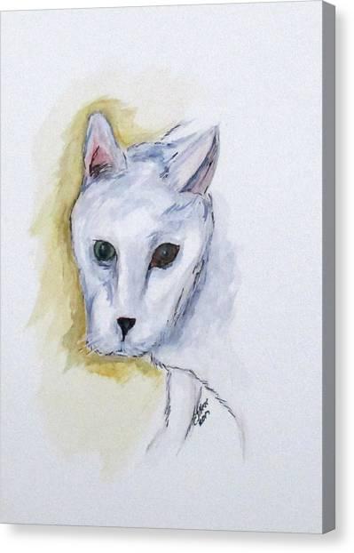 Jade The Cat Canvas Print