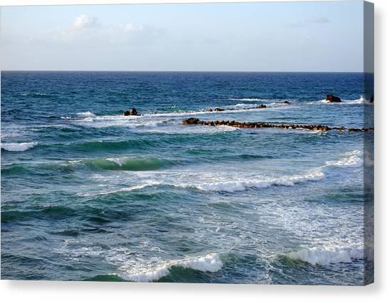Jaffa Beach 10 Canvas Print