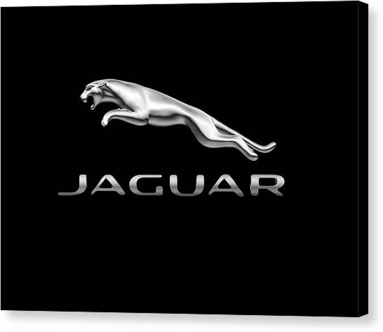 Jaguar Logo Canvas Print