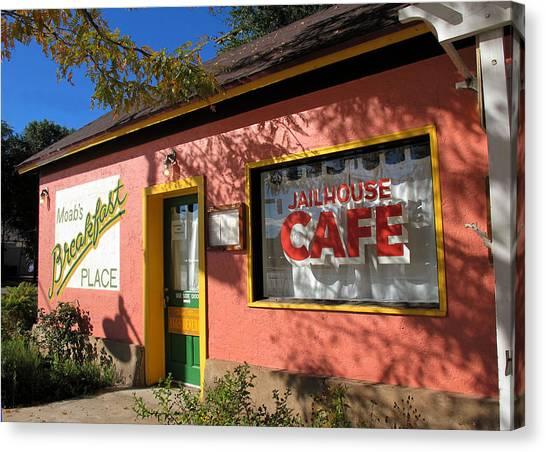 Jailhouse Cafe Moab Utah Canvas Print