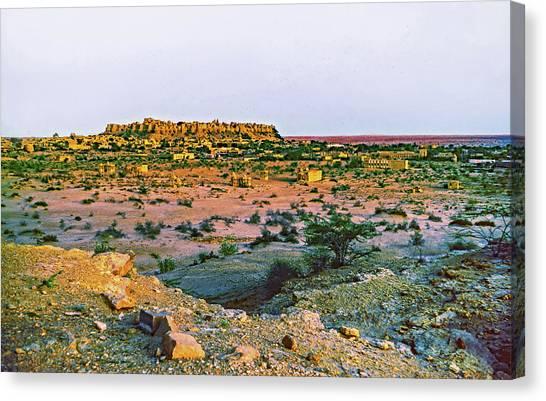 Thar Desert Canvas Print - Jaisalmer 2 by Steve Harrington