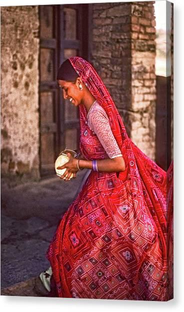 Thar Desert Canvas Print - Jaisalmer Beauty 2 by Steve Harrington