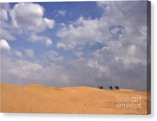 Jaisalmer Desert Festival-1 Canvas Print