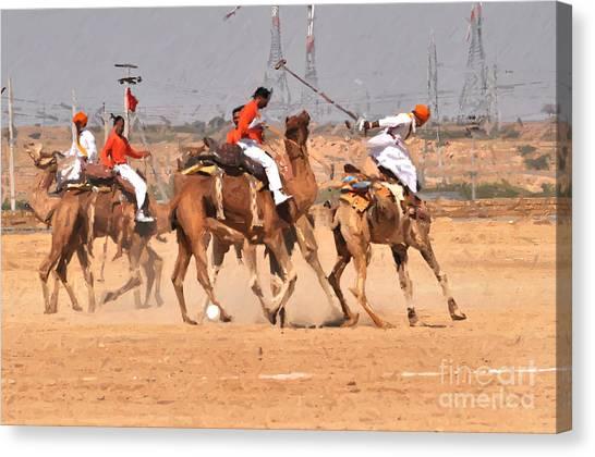 Jaisalmer Desert Festival-7 Canvas Print