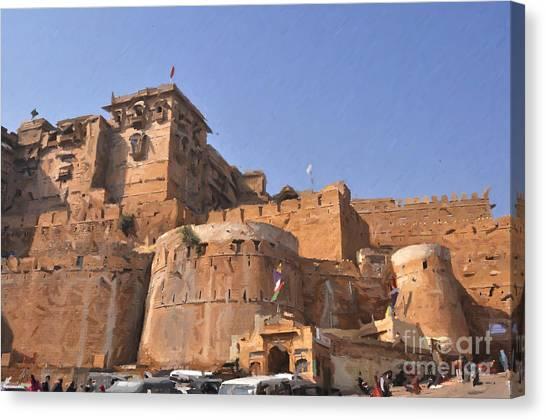 Jaisalmer Desert Festival-9 Canvas Print