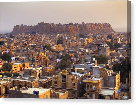 Thar Desert Canvas Print - Jaisalmer - India by Joana Kruse