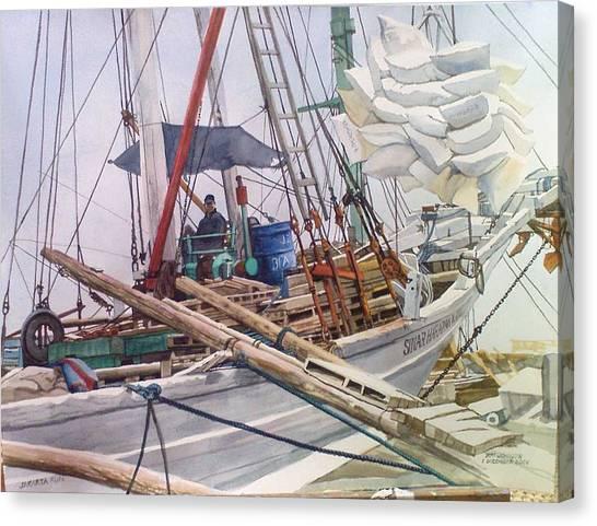 Jakarta Run Canvas Print