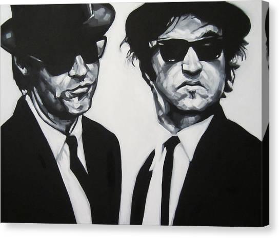 Jake And Elwood Canvas Print