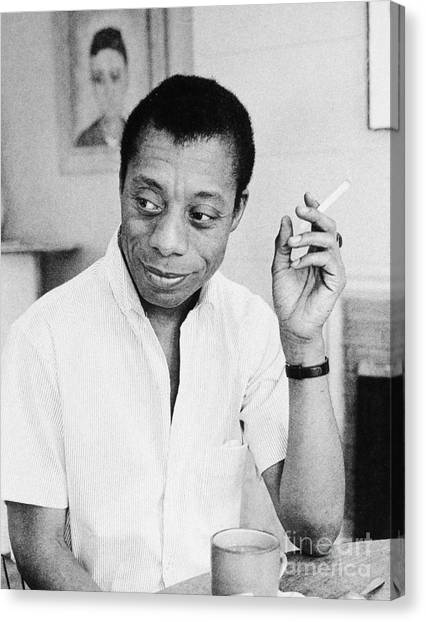 Canvas Print - James Baldwin by Granger