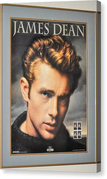 James Dean Hollywood Legend Canvas Print