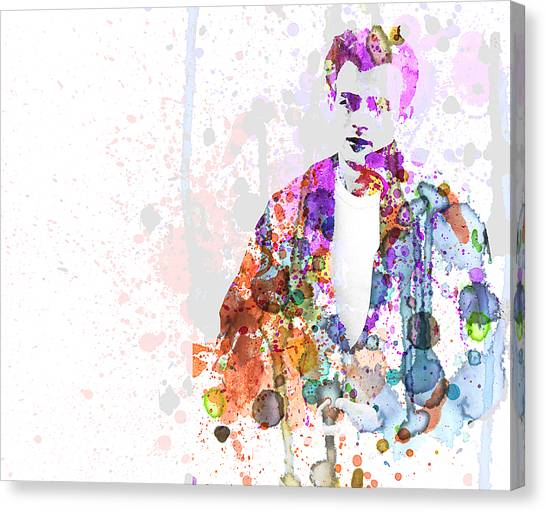 James Dean Canvas Print - James Dean by Naxart Studio