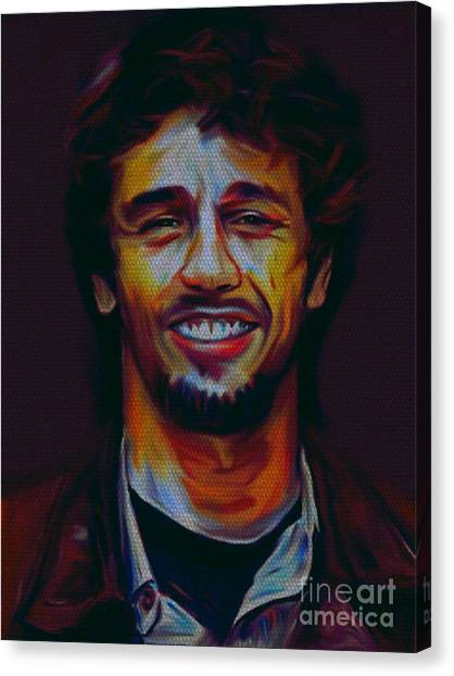 James Franco Canvas Print - My Name Is James Franco by Felix Von Altersheim