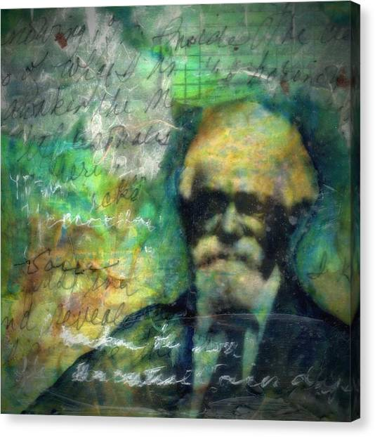 James Henry-study Canvas Print