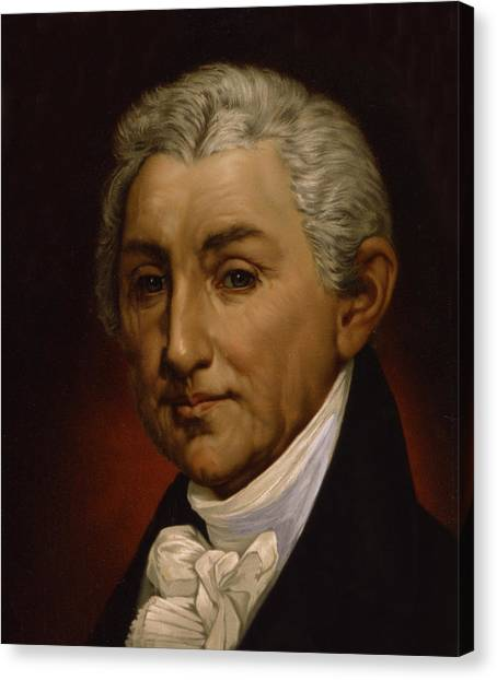 James Monroe - President Of The United States Of America Canvas Print