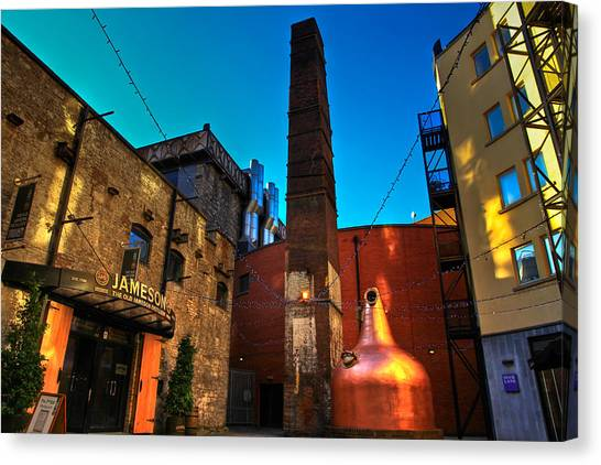 Jameson Distillery Canvas Print