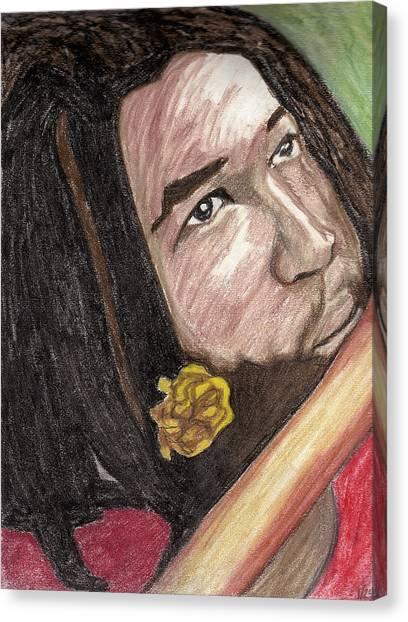 Jammin Canvas Print by Jean Haynes
