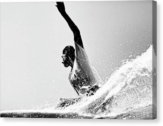 Canvas Print featuring the photograph Jammin by Nik West