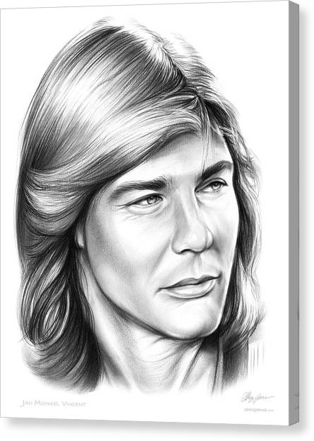 Helicopters Canvas Print - Jan Michael Vincent by Greg Joens