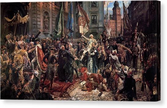 Notable Canvas Print - Jan Suchorzewski by Jan Matejko