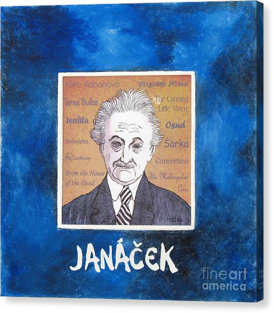 Janacek Canvas Print by Paul Helm