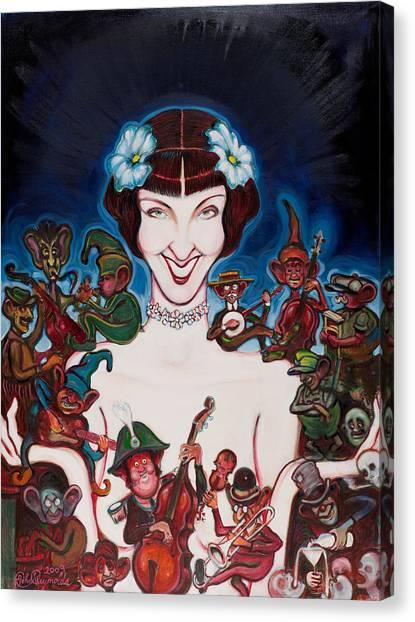 Janet Klein Canvas Print