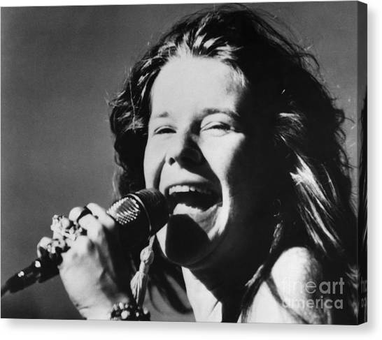 Canvas Print - Janis Joplin (1943-1970) by Granger