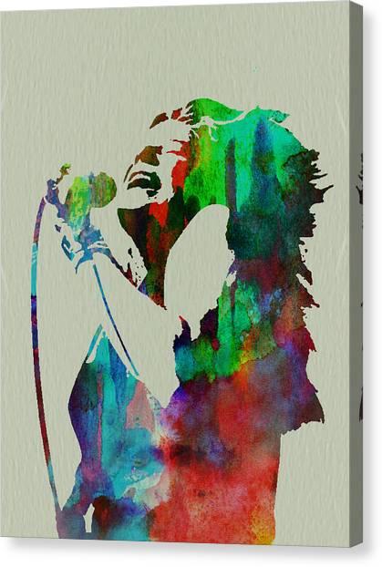 Janis Joplin Canvas Print - Janis Joplin by Naxart Studio