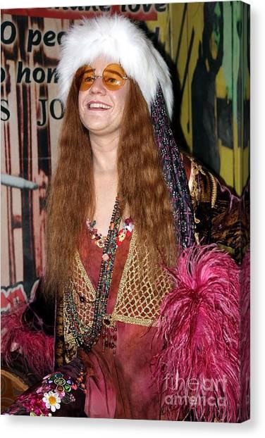 Janis Joplin Canvas Print - Janis Joplin by Sophie Vigneault