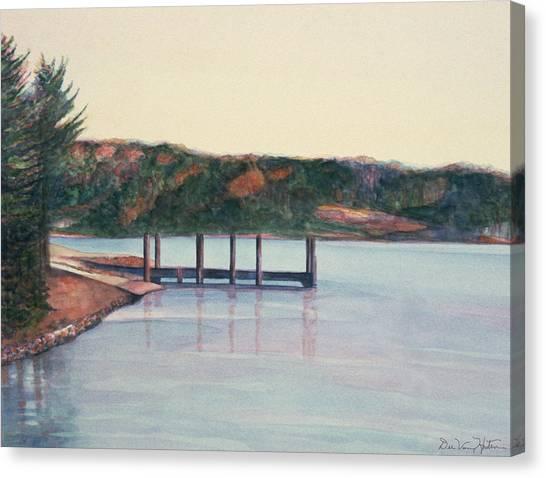 January Reflections Canvas Print
