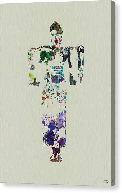 Japanese Canvas Print - Japanese Dance by Naxart Studio