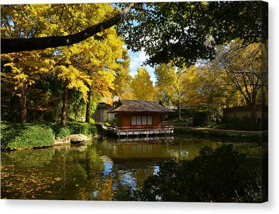 Japanese Gardens 2541a Canvas Print