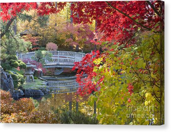 Japanese Gardens Canvas Print