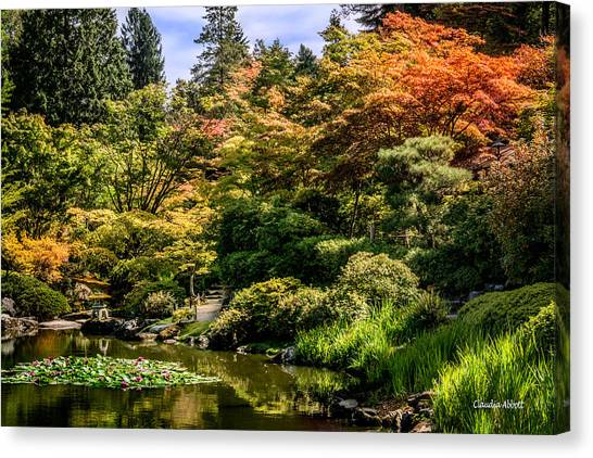 Japanese Gardens Seattle Canvas Print
