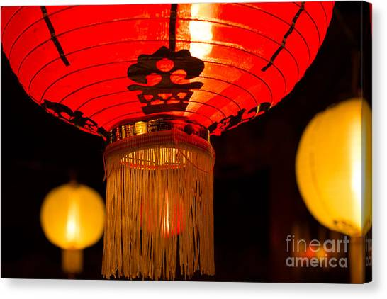Japanese Lantern 1 Canvas Print