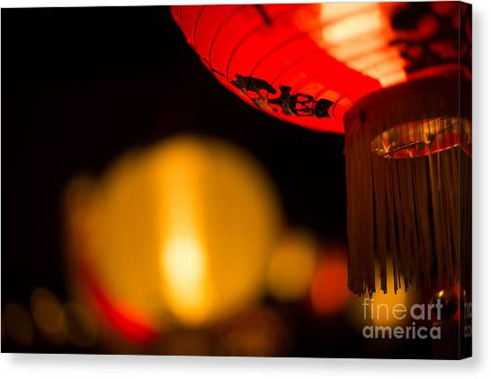 Japanese Lanterns 2 Canvas Print