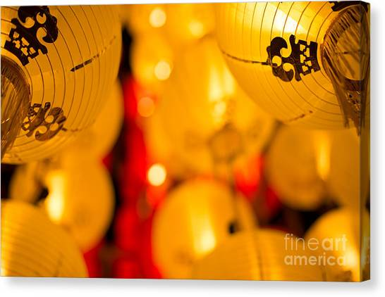 Japanese Lanterns 8 Canvas Print