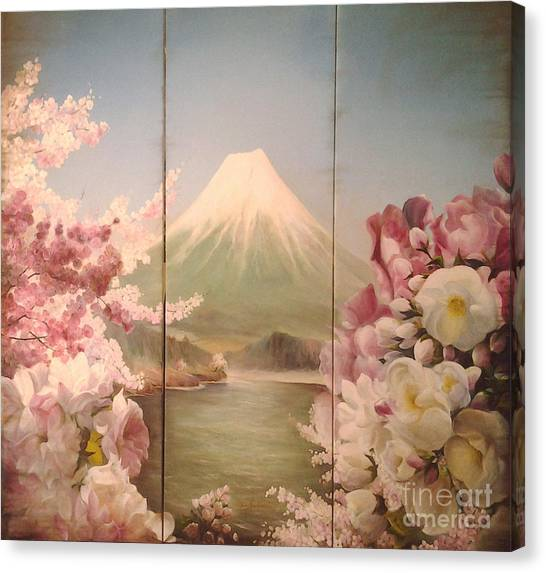 Japanese Spring Canvas Print